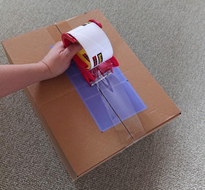 コートの梱包方法10