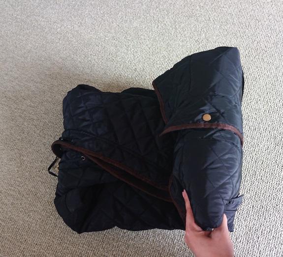 コートの梱包方法6