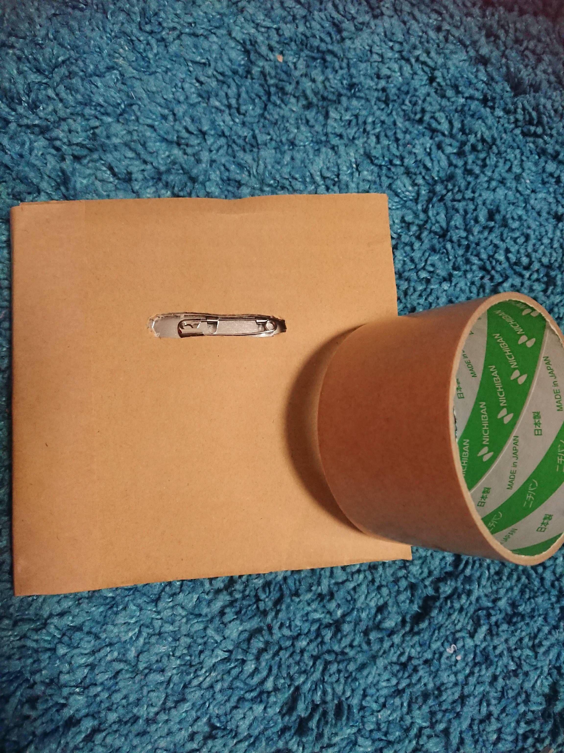 缶バッジの梱包方法8