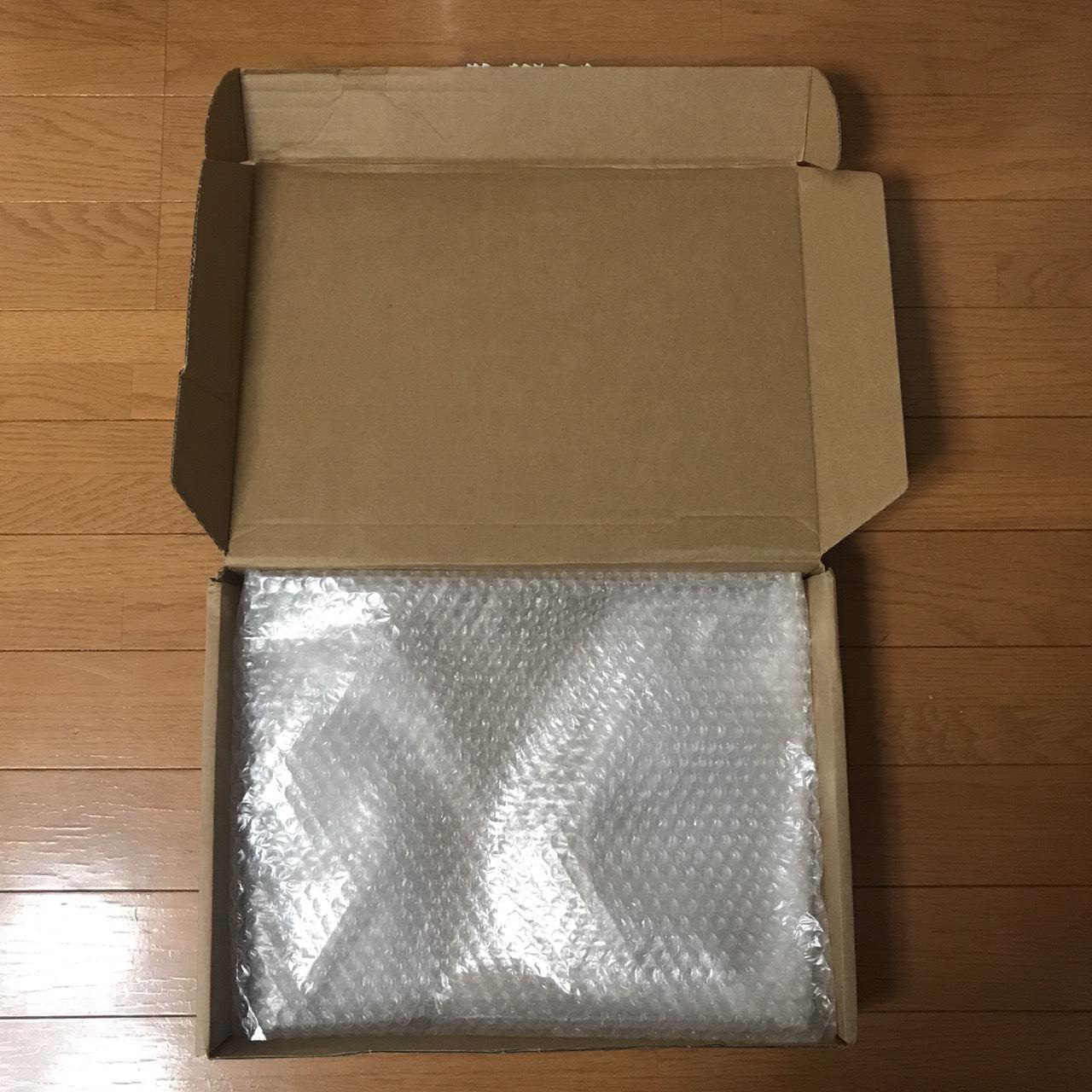 ノートパソコンの梱包4
