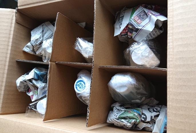 ペットボトルの梱包方法11
