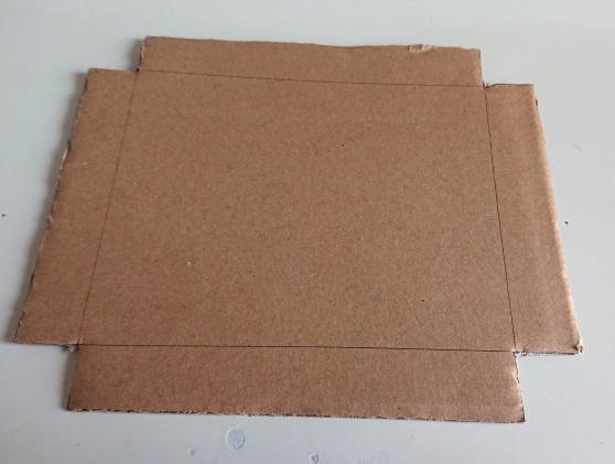 ピアスの梱包箱の作り方3