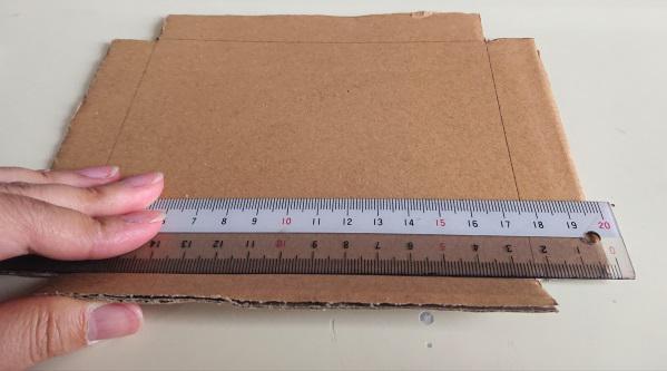 ピアスの梱包箱の作り方4