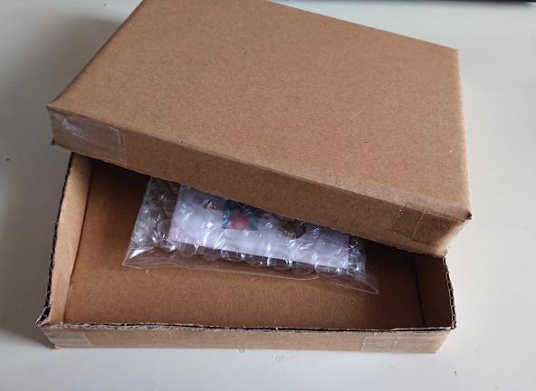 ピアスの梱包箱の作り方7
