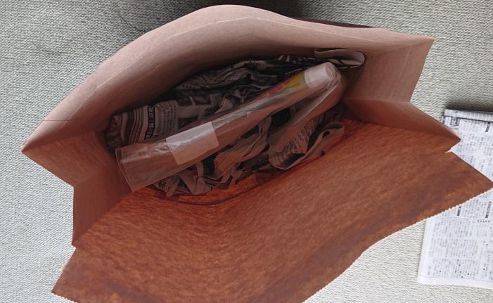 詰替え用洗剤の梱包4