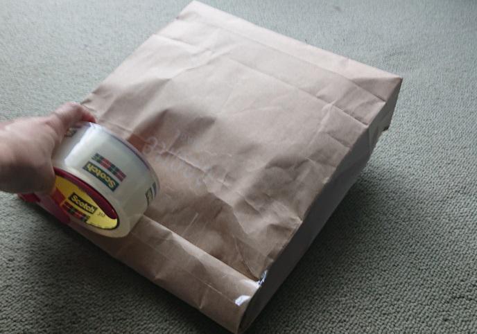 詰替え用洗剤の梱包5