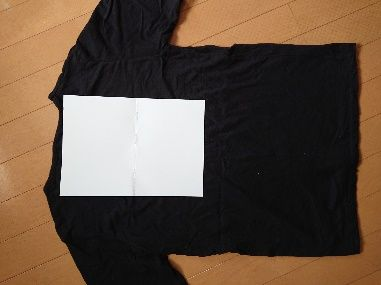Tシャツの梱包方法4
