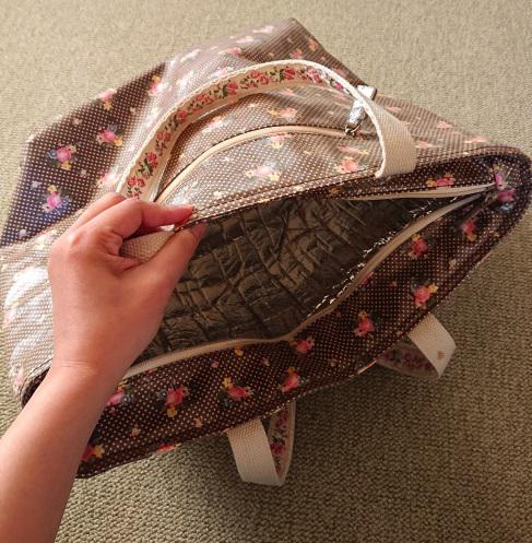トートバッグの梱包方法2