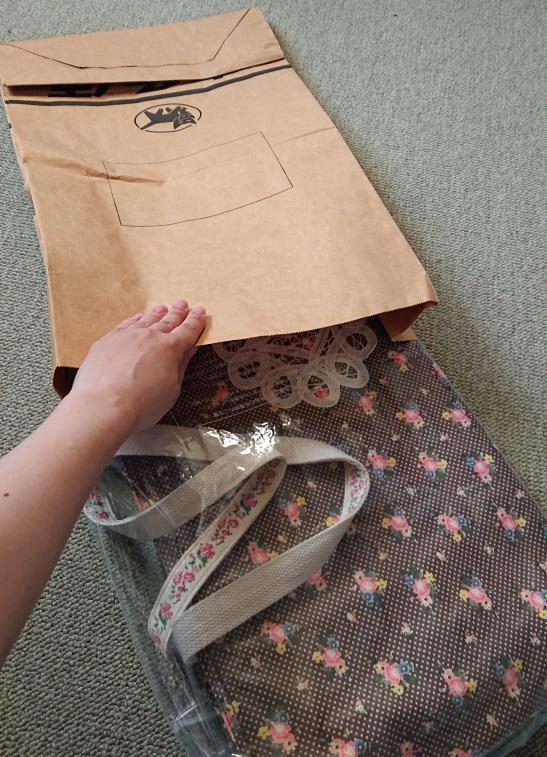 トートバッグの梱包方法7