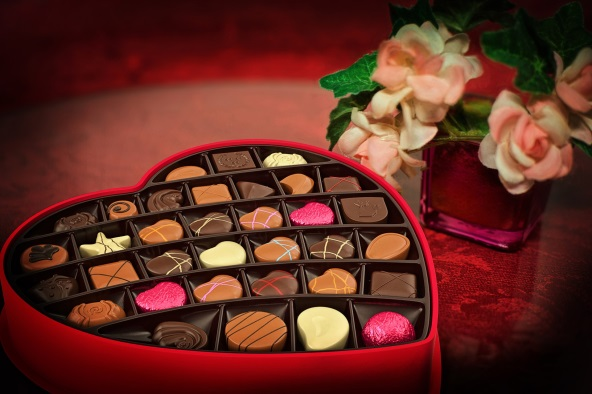チョコレートの梱包