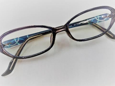 度数ありのメガネ