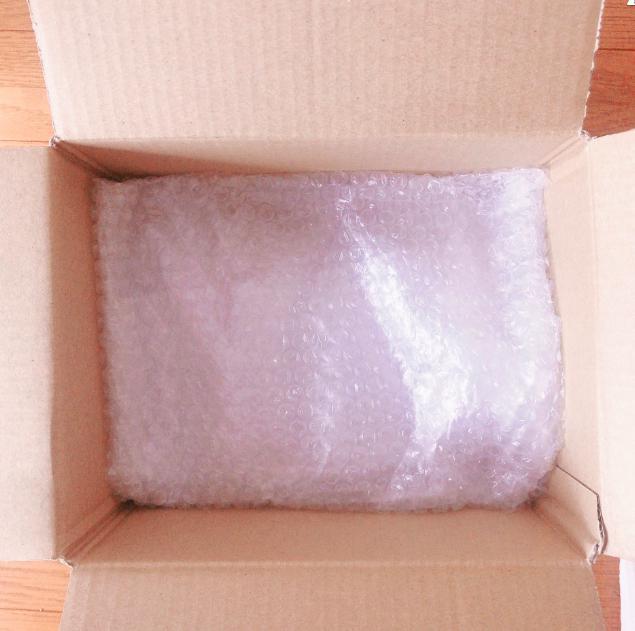 箱ありの腕時計の梱包方法4