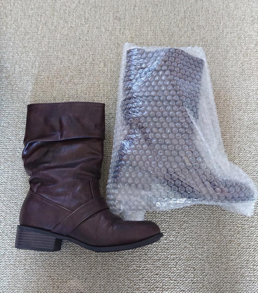 ブーツの梱包方法2