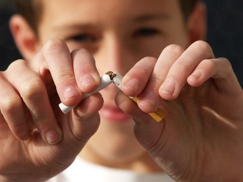 ハンカチのタバコ臭