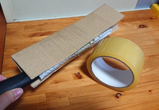 包丁の梱包方法8