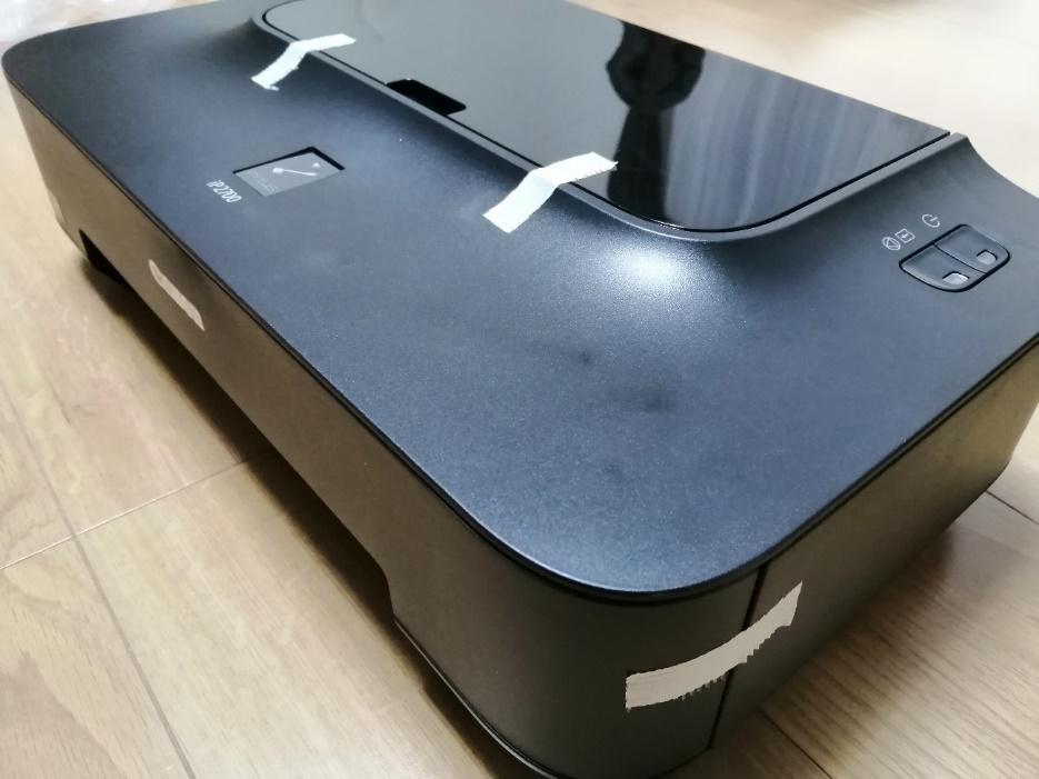 プリンターの梱包方法2