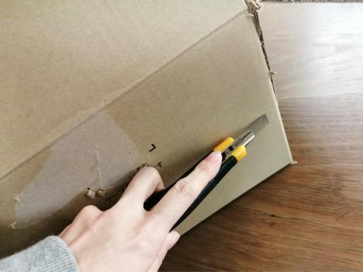 電子キーボードの梱包方法10