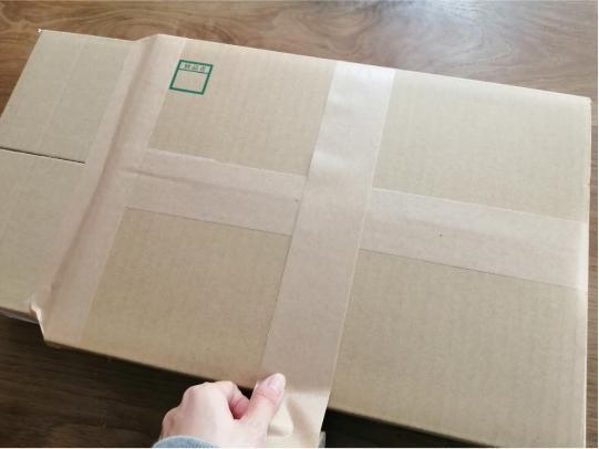 電子キーボードの梱包方法15