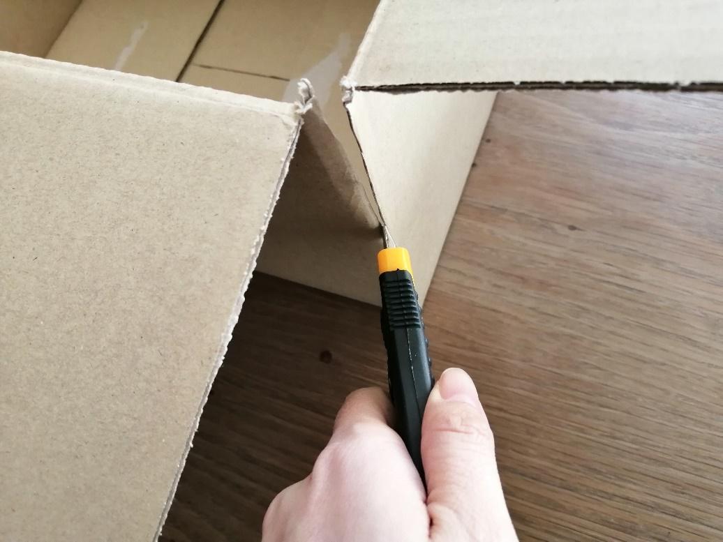 電子キーボードの梱包方法8