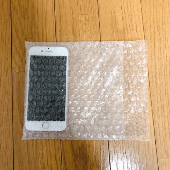 iPhoneの梱包方法2-3