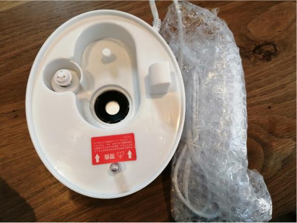 空気清浄機や加湿器の梱包方法7