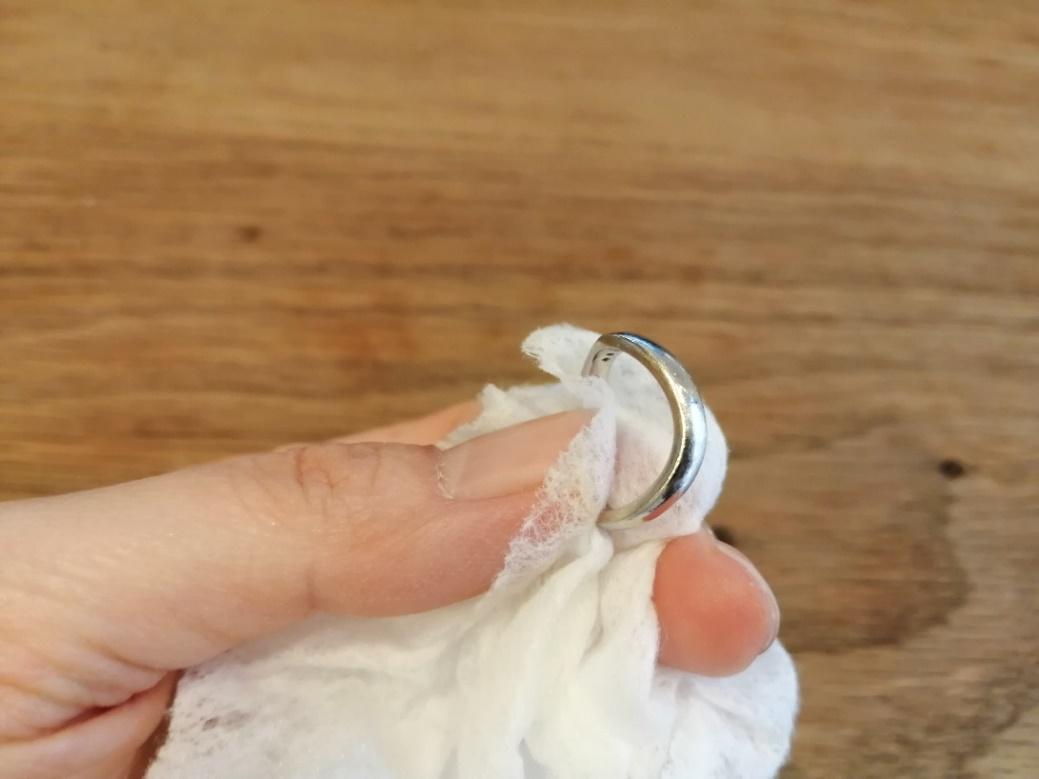 指輪の梱包方法1