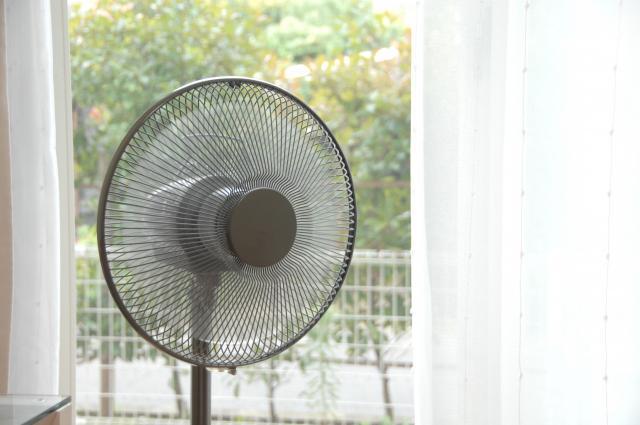 扇風機の梱包方法