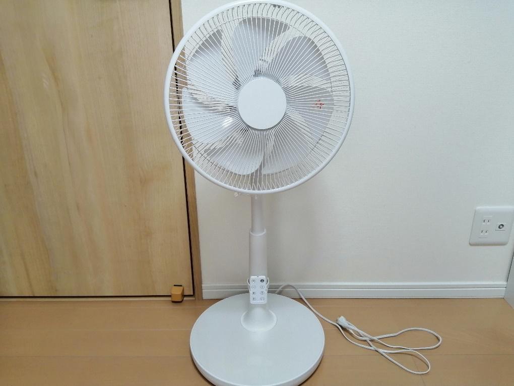 扇風機の梱包方法1