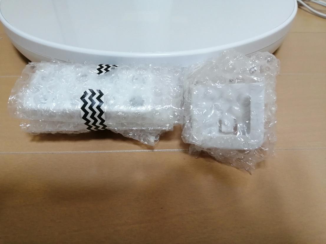 扇風機の梱包方法10