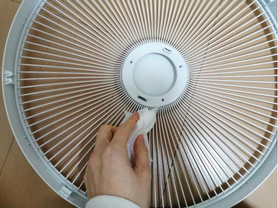 扇風機の梱包方法3
