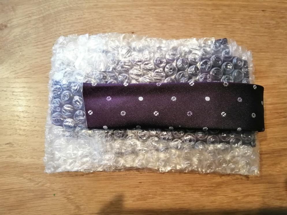 ネクタイの梱包方法4