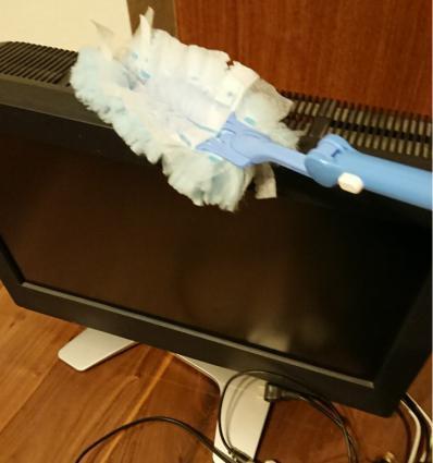 テレビの梱包方法2