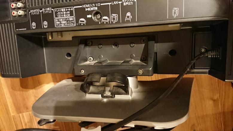 テレビの梱包方法3