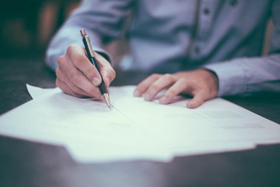 ヤマトの伝票を書く時のボールペン