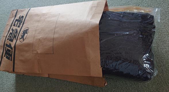 タオルケットの梱包方法8