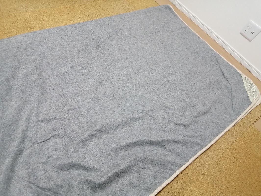 カーペットの梱包方法1-1