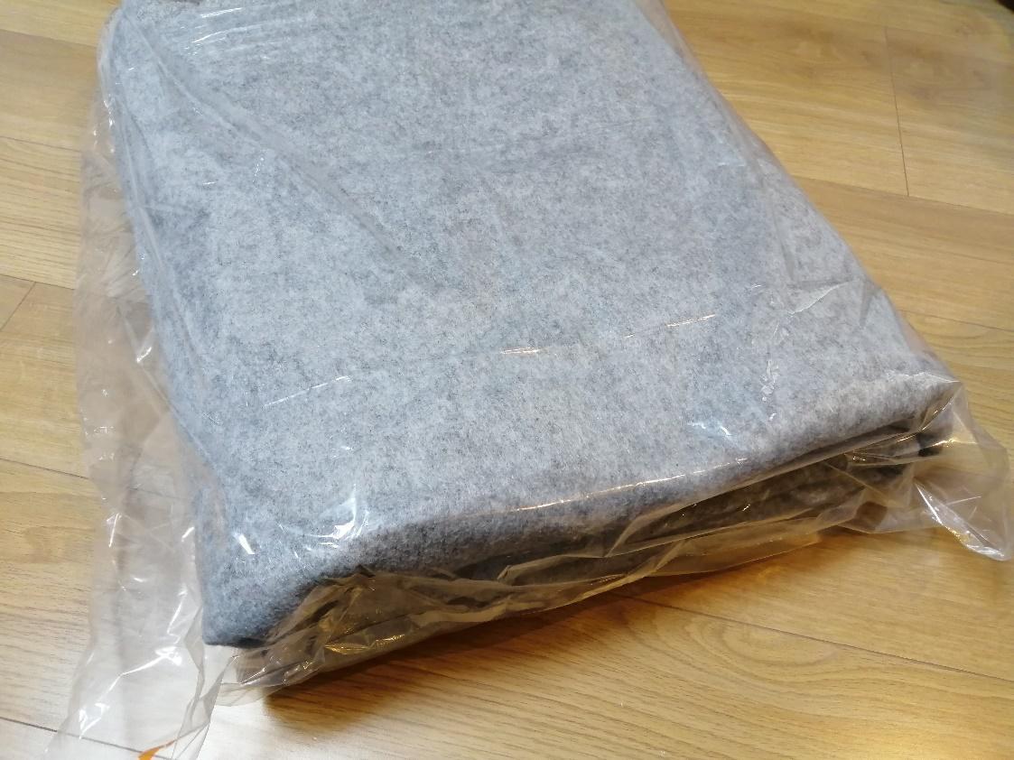 カーペットの梱包方法5
