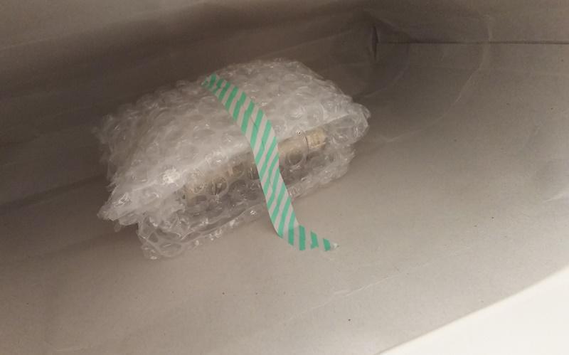 電子タバコの梱包方法4