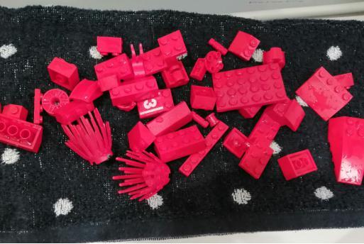 レゴの梱包前の洗い方2
