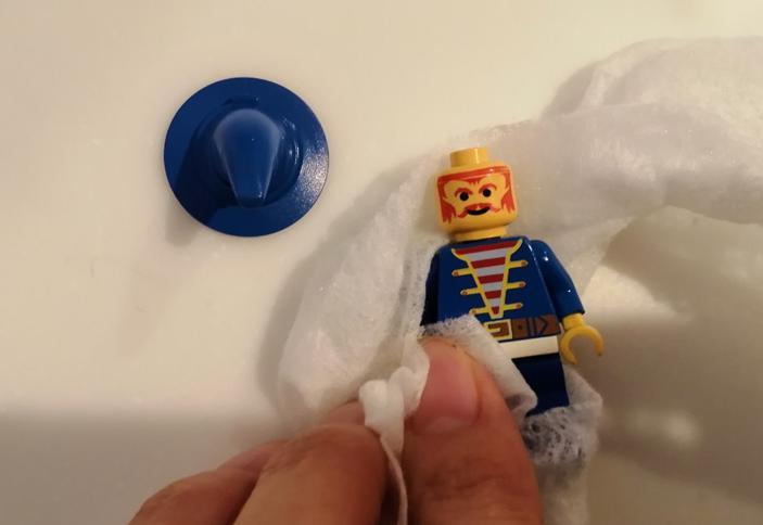 レゴの梱包前の洗い方3