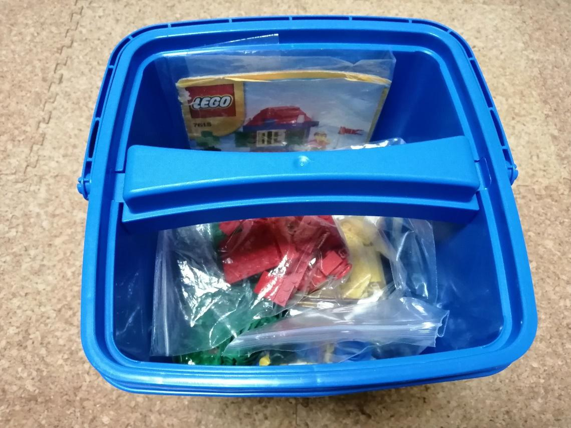 レゴブロックの梱包方法(箱あり)3