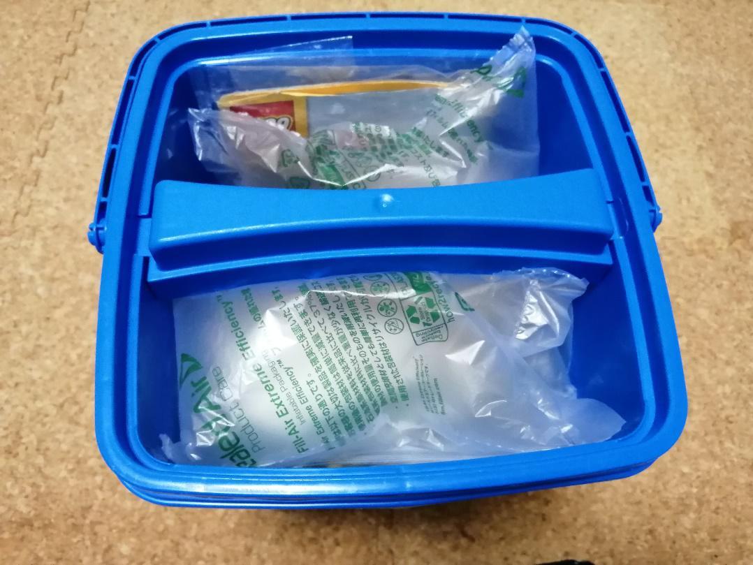 レゴブロックの梱包方法(箱あり)4