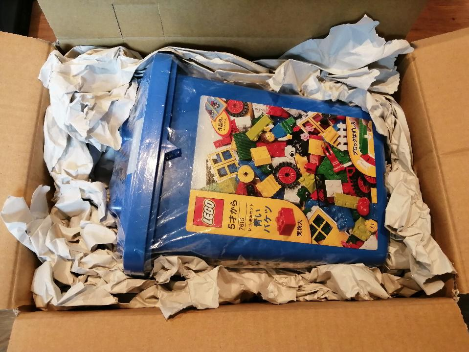 レゴブロックの梱包方法(箱あり)7