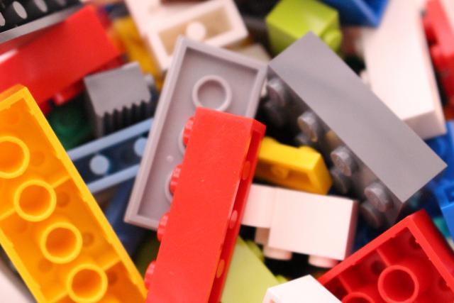 レゴブロックの梱包方法