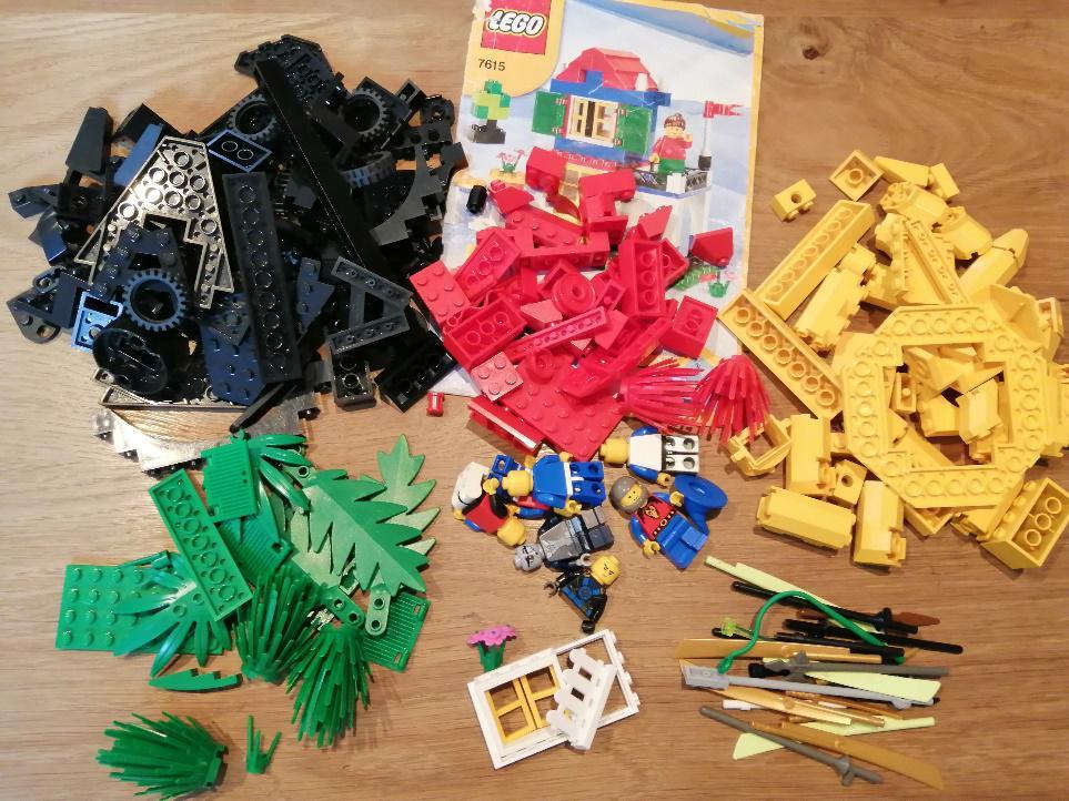 レゴブロックの梱包方法11