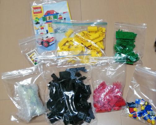レゴブロックの梱包方法4