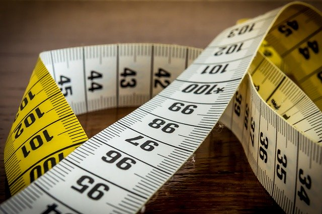 サイズ測りのメジャー