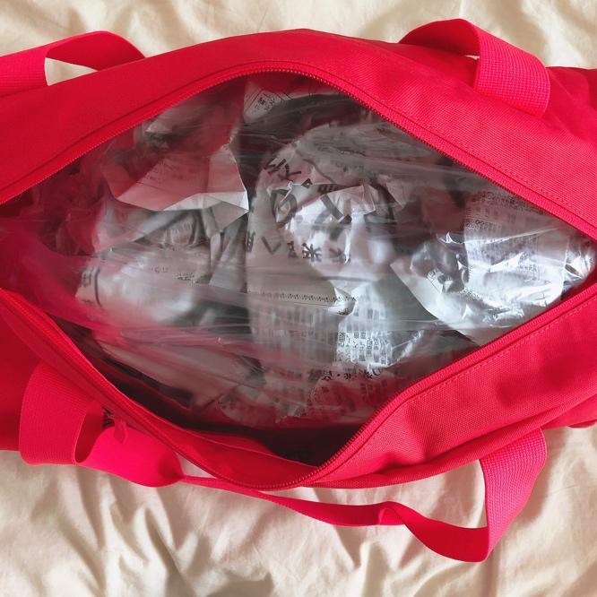 ボストンバッグの梱包方法14