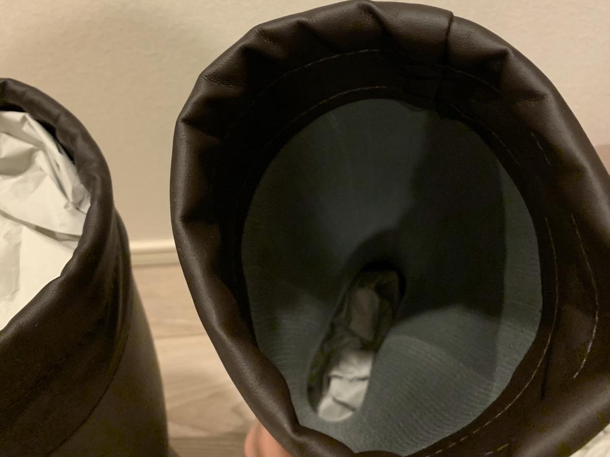長靴の梱包方法11