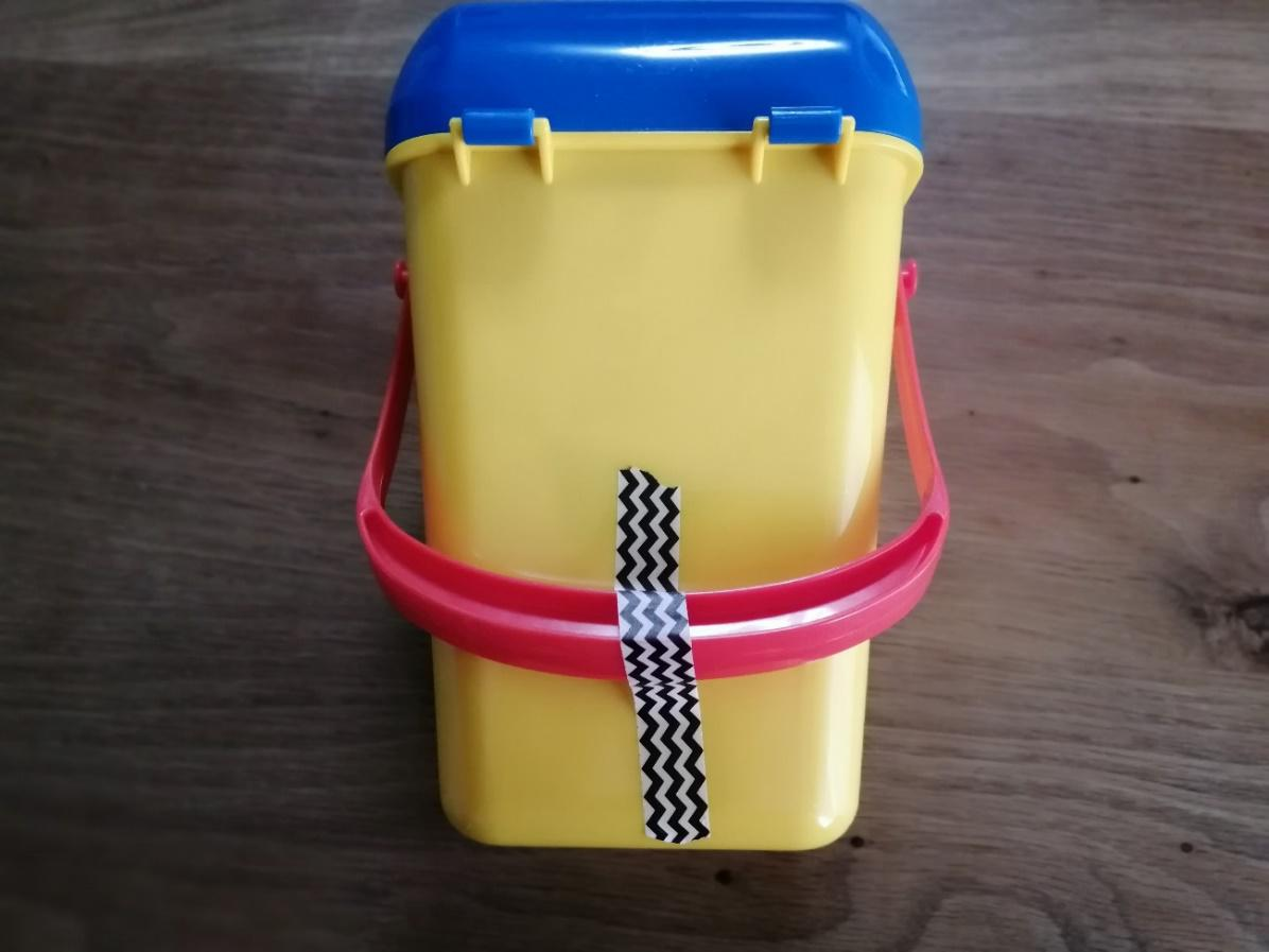 ポップコーンバケットの梱包方法17